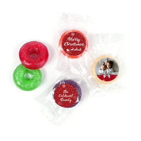 Personalized Christmas Welcoming Joy Life Savers 5 Flavor Hard Candy