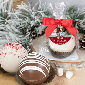 Personalized Christmas Hot Cocoa Bomb - Welcoming Joy