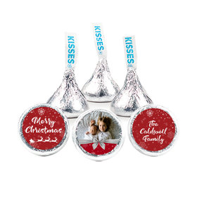 """Personalized Christmas Welcoming Joy 3/4"""" Stickers (108 Stickers)"""