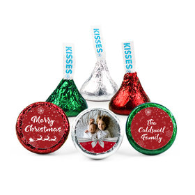 Personalized Christmas Welcoming Joy Hershey's Kisses (50 pack)