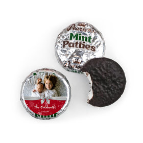 Personalized Christmas Welcoming Joy Pearson's Mint Patties