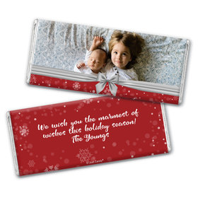 Personalized Christmas Welcoming Joy Chocolate Bars