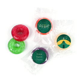 Personalized Christmas Holy Celebration Life Savers 5 Flavor Hard Candy
