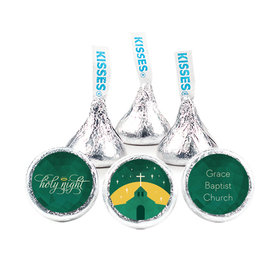 """Personalized Christmas Holy Celebration 3/4"""" Stickers (108 Stickers)"""