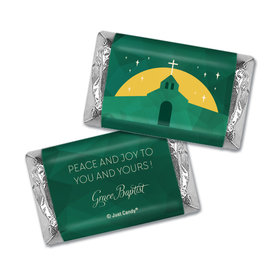 Personalized Christmas Holy Celebration Hershey's Miniatures Wrappers