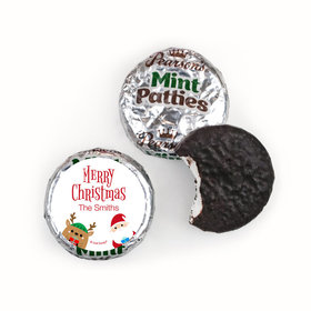 Personalized Christmas Winter Buddies Pearson's Mint Patties