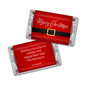 Personalized Christmas St. Nick Hershey's Miniatures Wrappers