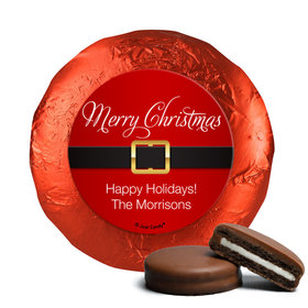 Personalized Christmas St. Nick Chocolate Covered Oreos