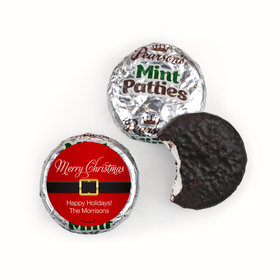 Personalized Christmas St. Nick Pearson's Mint Patties