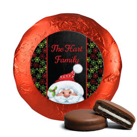 Personalized Chocolate Covered Oreos - Christmas Santa