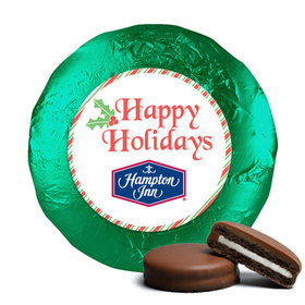 Personalized Chocolate Covered Oreos - Christmas Stripes