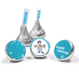 Personalized Hershey's Kisses - Christmas Snowflake Flurry (50 Pack)