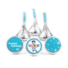 Personalized Christmas Snowflakes Hershey's Kisses (50 pack)