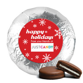 Personalized Chocolate Covered Oreos - Christmas Snowflake Flurry