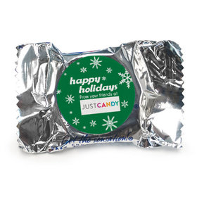 Personalized York Peppermint Patties - Christmas Snowflake Flurry