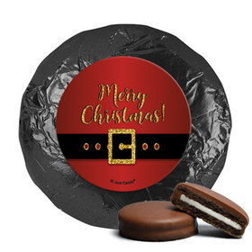 Personalized Chocolate Covered Oreos - Christmas Santa Buckle