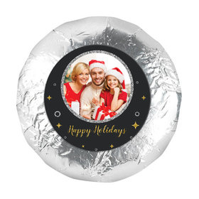 """Personalized 1.25"""" Stickers - Christmas Once Upon a Holiday (48 Stickers)"""