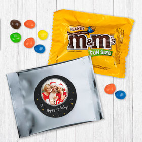 Personalized Christmas Once Upon a Holiday - Peanut M&Ms
