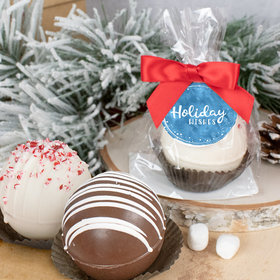 Christmas Hot Cocoa Bomb - Holiday Wishes