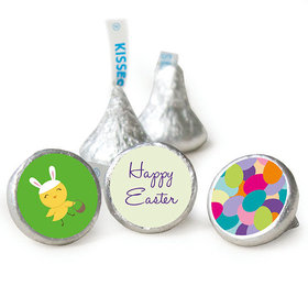 "Egg Hunter Easter Candy 3/4"" Sticker (108 Stickers)"