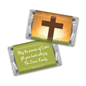 He's Risen Personalized Miniature Wrappers