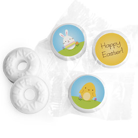 Easter Personalized Life Savers Mints Bunny and Chick Peeps