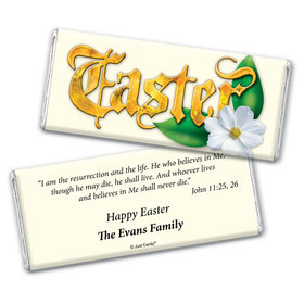 Easter Blessings Personalized Candy Bar - Wrapper Only