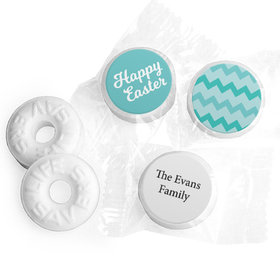 Personalized Easter Chevron Egg Life Savers Mints