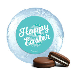 Easter Chevron Egg Milk Chocolate Covered Oreos
