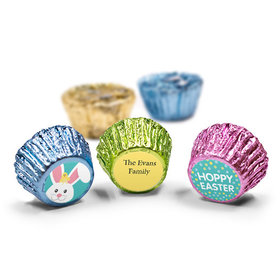 Personalized Easter Blue Chick Spring Mix Reese's (50 Pack)