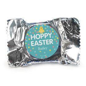 Personalized Easter Blue Chick York Peppermint Patties
