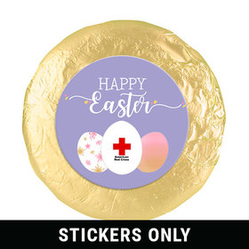 """Personalized 1.25"""" Stickers - Easter Egg Add Your Logo (48 Stickers)"""
