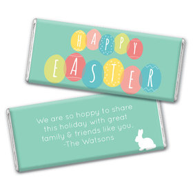 Personalized Chocolate Bar & Wrapper-Easter Egg Party