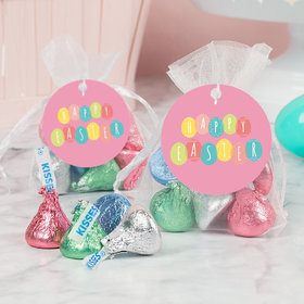 Easter Egg Party Hershey's Kisses in Organza Bags