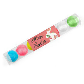 Easter Floral Bunny Gumball Tube