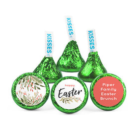 Personalized Easter Flowers Hershey's Kisses (50 pack)