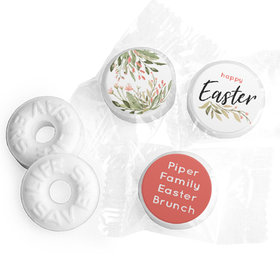 Personalized Easter Flowers Life Savers Mints