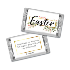 Personalized Easter Flowers Mini Wrappers