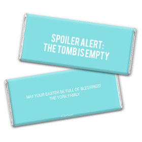 Personalized Easter Empty Tomb Chocolate Bars