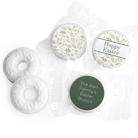 Personalized Easter Spring Greenery Life Savers Mints