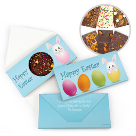 Personalized Easter Egg Hatched Easter Gourmet Infused Belgian Chocolate Bars (3.5oz)