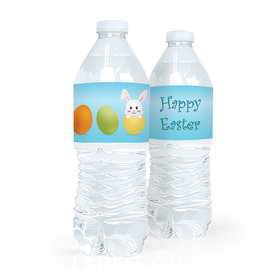 Personalized Easter Hatched an Egg Water Bottle Sticker Labels (5 Labels)
