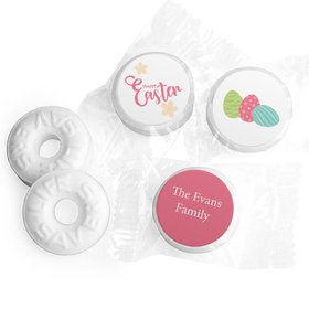 Personalized Easter Eggs & Flowers Life Savers Mints