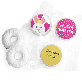 Personalized Easter Pink Chick Life Savers Mints