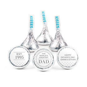 """Personalized Classic Dad Father's Day 3/4"""" Stickers (108 Stickers)"""