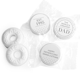 Personalized Classic Dad Father's Day Life Savers Mints
