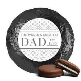 Personalized Classic Dad Father's Day Milk Chocolate Covered Oreos (24 Pack)