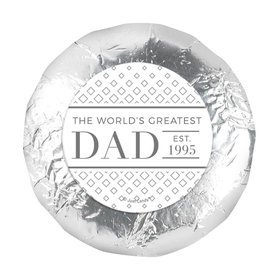 "Personalized Classic Dad Father's Day 1.25"" Stickers (48 Stickers)"