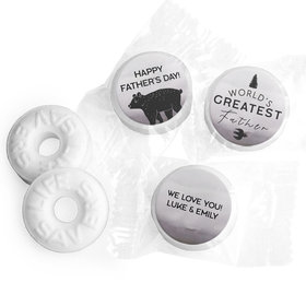 Personalized Wisdom & Wilderness Father's Day Life Savers Mints