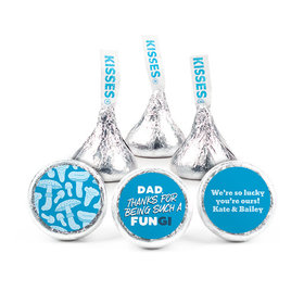 "Personalized Dad's a FUNgi Father's Day 3/4"" Stickers (108 Stickers)"